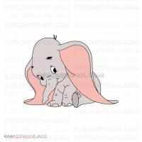 Dumbo Baby Elephant 6 Svg Dxf Eps Pdf Png