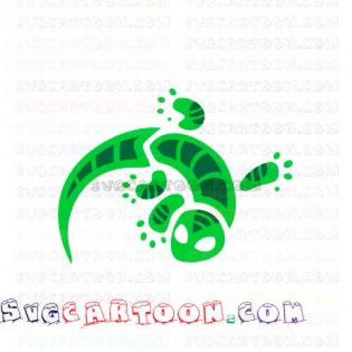 Gekko Sign Green Pj Masks Svg Dxf Eps Pdf Png