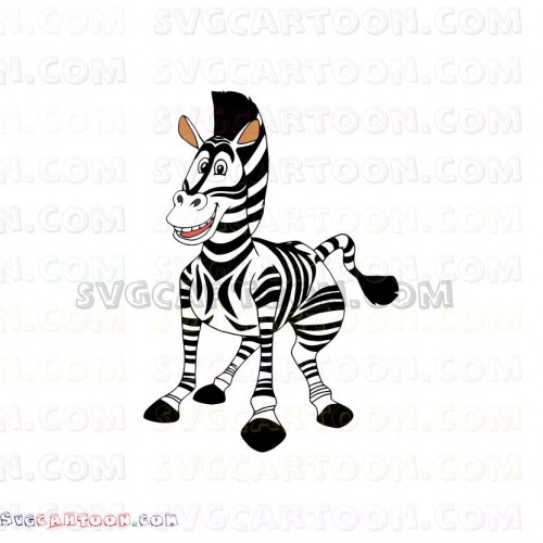 Madagascar 2 : marty the zebra coloring pages - Hellokids.com | 500x500