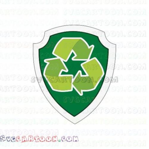 Rocky logo Paw Patrol svg dxf eps pdf png
