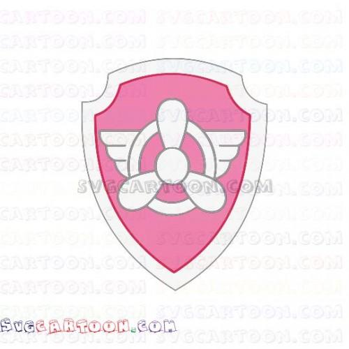 Skye logo Paw Patrol svg dxf eps pdf png