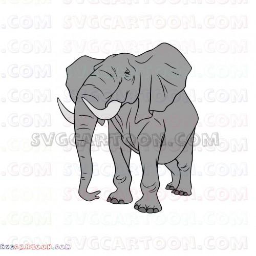 Elephants The Lion King Svg Dxf Eps Pdf Png